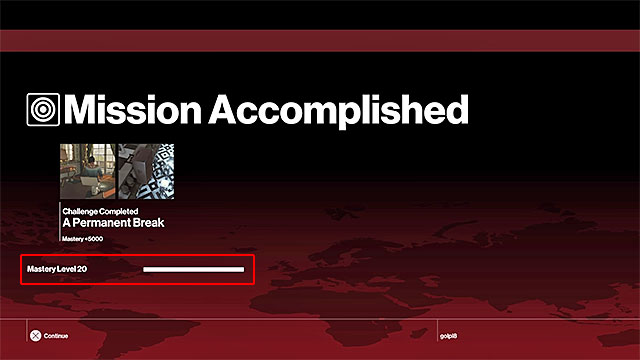 The highest mastery level in Paris mission is twenty - Mission summaries, challenges, mastery levels | Controls - Game Guide - Hitman Game Guide