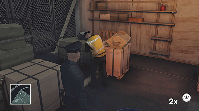 You can reach the yacht deck in mechanic disguise - Yacht infiltration | Freeform Training - Freeform Training - Hitman Game Guide