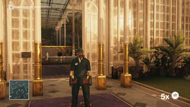 An exterminators disguise can only be seen through by another exterminator. - Disguises | Bangkok - Bangkok: Club 27 - Hitman Game Guide