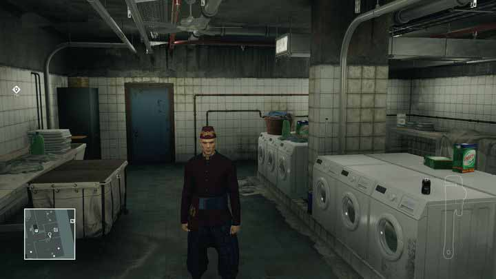 You can get a hotel staff outfit most easily by knocking out the three people in the laundry. - Disguises | Bangkok - Bangkok: Club 27 - Hitman Game Guide