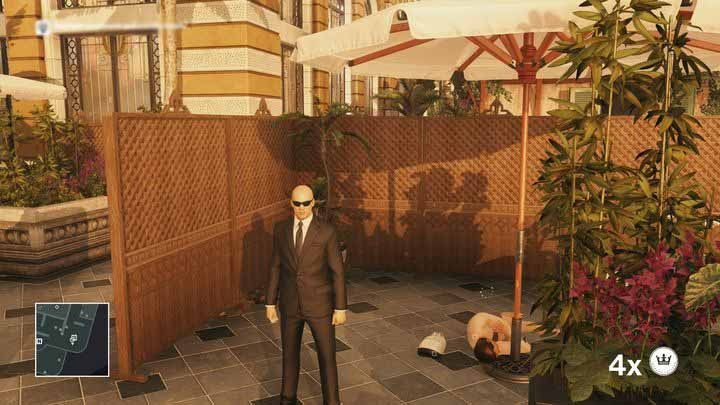 Morgans bodyguards disguise is only useful on level 1. - Disguises | Bangkok - Bangkok: Club 27 - Hitman Game Guide