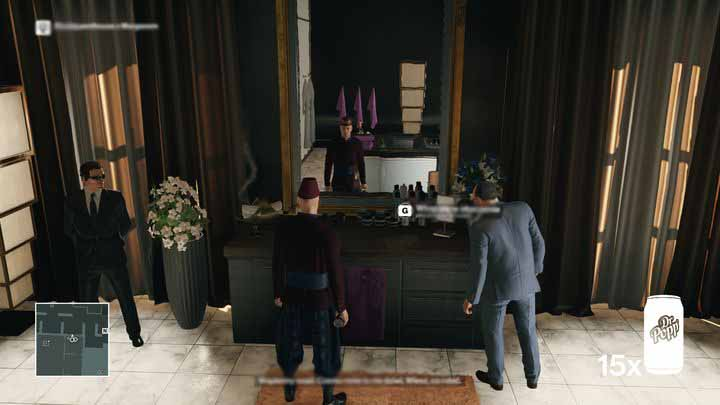 Let Morgan complain a little bit - first he must feel at home, before he lets his guard down. - Murdering Ken Morgan | Bangkok - Bangkok: Club 27 - Hitman Game Guide