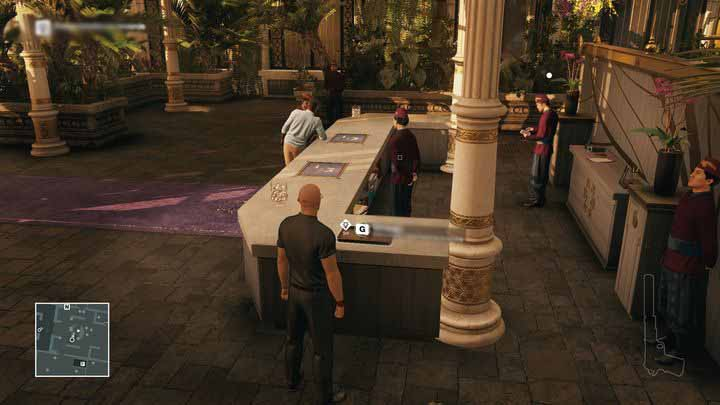 Put the letter down and wait for Morgan - but be careful of the reception manager. - Murdering Ken Morgan | Bangkok - Bangkok: Club 27 - Hitman Game Guide