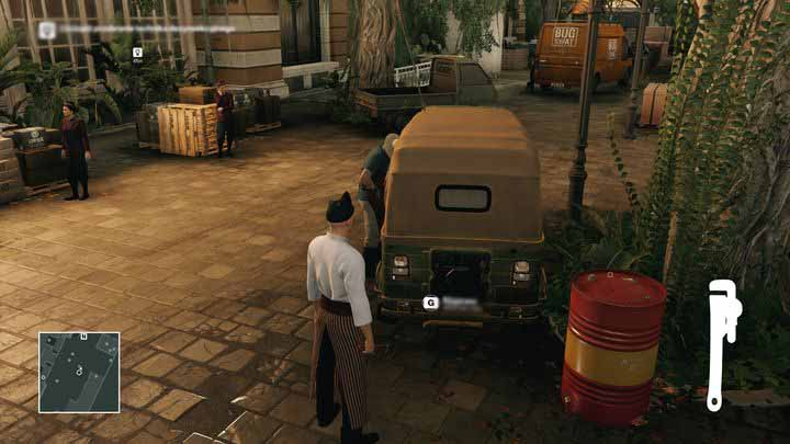 In order to fix the tuk tuk you will need a wrench. - Murdering Ken Morgan | Bangkok - Bangkok: Club 27 - Hitman Game Guide