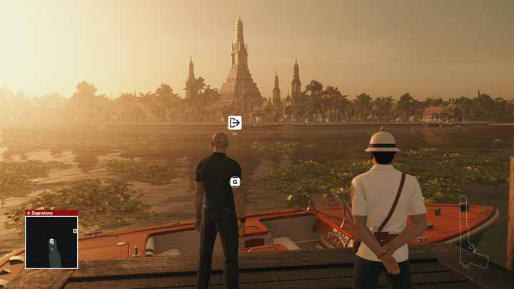 Leaving The Mission Area Bangkok Hitman Game Guide