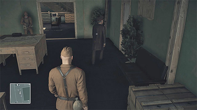 You must stun the KGB officer when he is alone - Disguises and important items | Final Training - Final Training - Hitman Game Guide