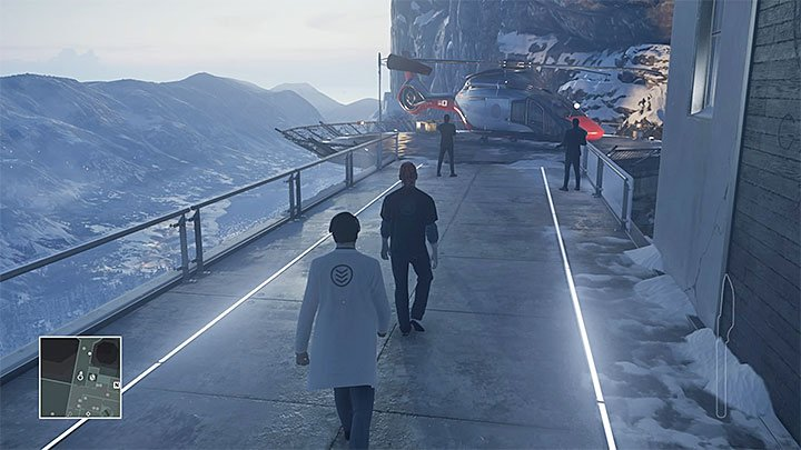 You can attack the Chief Surgeon on the back of the hospital or lure him to a secluded place - Disguises | Hokkaido - Hokkaido: Situs Inversus - Hitman Game Guide