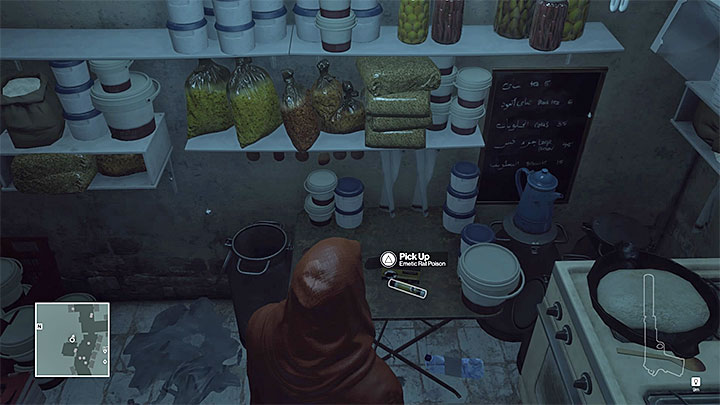 Rat poisons are in several locations - Disguises and important items | Marrakesh: A House Built on Sand - Summer Episode - Marrakesh: A House Built on Sand - Hitman Game Guide