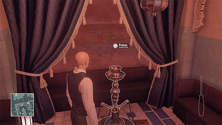 Poison the pipe - Murdering Kong Tuo-Kwang | Marrakesh: A House Built on Sand - Summer Episode - Marrakesh: A House Built on Sand - Hitman Game Guide