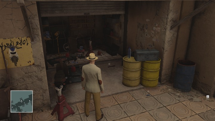 You will find the tools opposite the carpet store, among other places. - Important items | Marrakesh - Marrakesh: A Gilded Cage - Hitman Game Guide