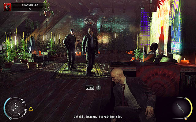 Now you have to determine the way you want to avoid being caught and reach a further part of the building - Shangri-La - Evading the police - 4: Run For Your Life - Hitman: Absolution - Game Guide and Walkthrough