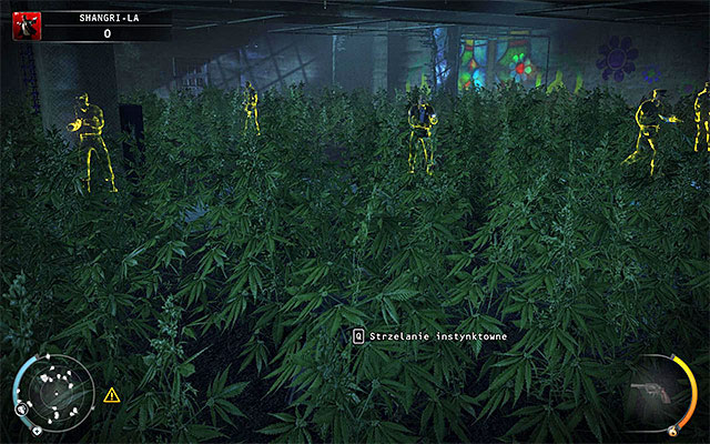 Crossing the marijuana field might be a bit problematic - Shangri-La - Evading the police - 4: Run For Your Life - Hitman: Absolution - Game Guide and Walkthrough