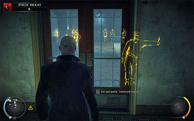 You start this stage at the elevator - Train station - Getting to train station - 4: Run For Your Life - Hitman: Absolution - Game Guide and Walkthrough