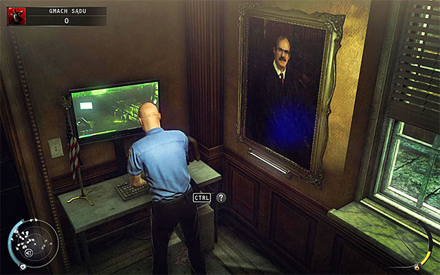 Explore a small right room in judge's chambers - Courthouse - Getting to the holding cells in defendant disguise - 15: Skurkys Law - Hitman: Absolution - Game Guide and Walkthrough