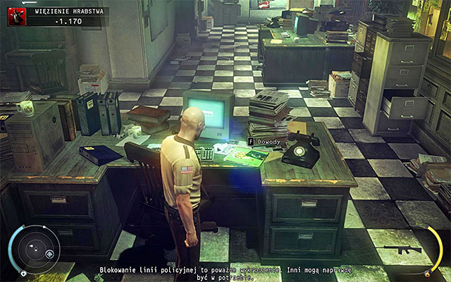 First evidence can be obtained in the County jail stage - 16: Operation Sledgehammer - Challenges - Hitman: Absolution - Game Guide and Walkthrough