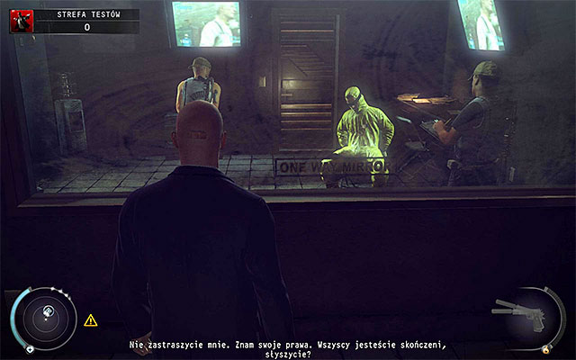 Move straight ahead - Test Facility - Accessing the test facility - 12: Death Factory - Hitman: Absolution - Game Guide and Walkthrough