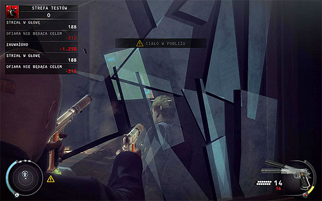 The most aggressive option involves using Silverballers to deal with security guards - Test Facility - Accessing the test facility - 12: Death Factory - Hitman: Absolution - Game Guide and Walkthrough