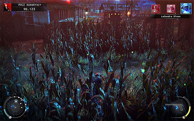 There are two recommended ways of eliminating LaSandra Dixon - Cornfield - Murdering LaSandra Dixon - 14: Attack of the Saints - Hitman: Absolution - Game Guide and Walkthrough