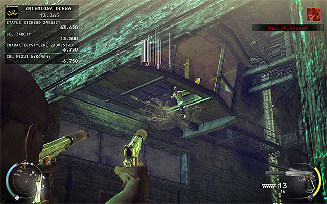 This challenge can be completed in the Test Facility stage and it assumes destroying the control room glass floor, when Dr - 12: Death Factory - p. 1 - Challenges - Hitman: Absolution - Game Guide and Walkthrough