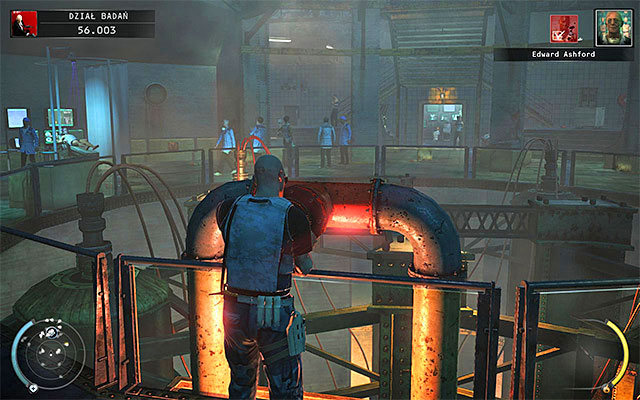 This challenge can be completed in the R&D stage and it can be connected with previous one - Strap Him In - 12: Death Factory - p. 2 - Challenges - Hitman: Absolution - Game Guide and Walkthrough