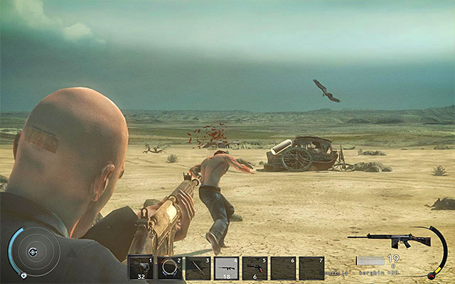Another idea is using firearm - Desert - 10: End of the Road - Hitman: Absolution - Game Guide and Walkthrough