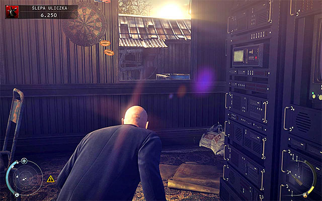 Now you have to decide how you want to approach sawmill visible in a distance - a second post with backup security system can found be near there - Dead End - Disabling primary and backup security systems - 11: Dexter Industries - Hitman: Absolution - Game Guide and Walkthrough