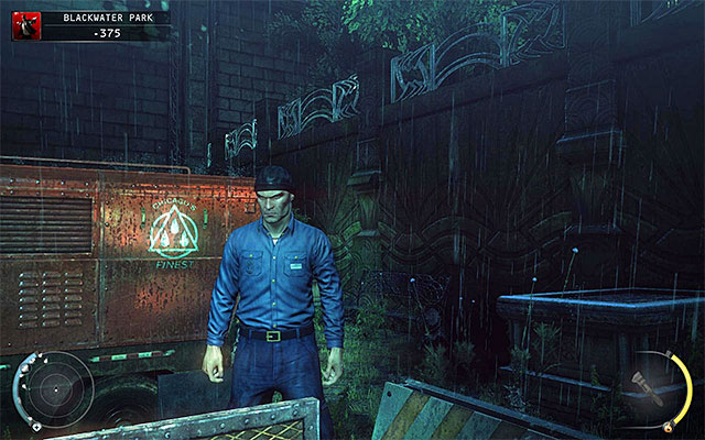 Blackwater custodian disguise can be obtained in the Blackwater Park stage - 18: Blackwater Park - p. 1 - Challenges - Hitman: Absolution - Game Guide and Walkthrough