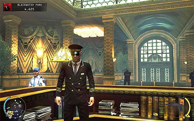 Blackwater receptionist disguise can be obtained in the Blackwater Park stage - 18: Blackwater Park - p. 1 - Challenges - Hitman: Absolution - Game Guide and Walkthrough