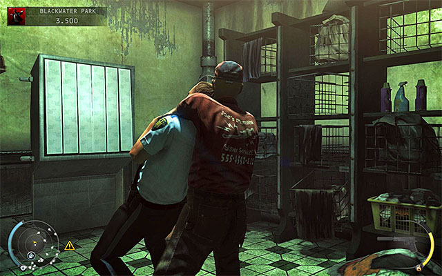 It would be best to use a radio or throwable objects to lure enemies to come to this room - 18: Blackwater Park - p. 1 - Challenges - Hitman: Absolution - Game Guide and Walkthrough