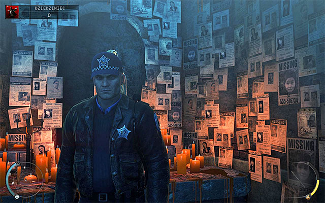Chicago officer disguise is the easiest one to get because you may encounter cops in all stages of the fifth mission, except Dressing Rooms stage - 5: Hunter and Hunted - p. 1 - Challenges - Hitman: Absolution - Game Guide and Walkthrough