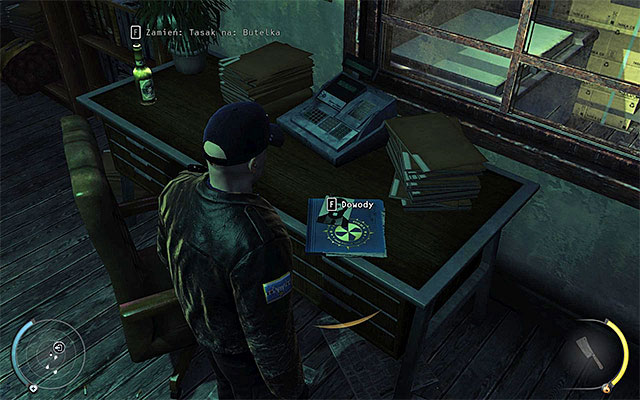 Firth evidence can be obtained in the Loading Area stage - 5: Hunter and Hunted - p. 1 - Challenges - Hitman: Absolution - Game Guide and Walkthrough