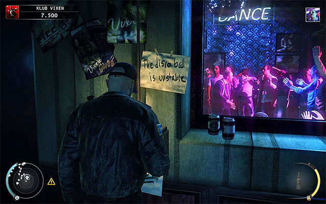 Stand by the mirror and wait for Dom - 5: Hunter and Hunted - p. 1 - Challenges - Hitman: Absolution - Game Guide and Walkthrough