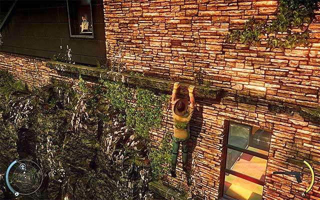حرکت به صورت متوالی به سمت چپ، عبور دو پنجره در راه - کلیف - 1: قرارداد شخصی - هیتمن: Absolution - راهنمای بازی و پیاده روی