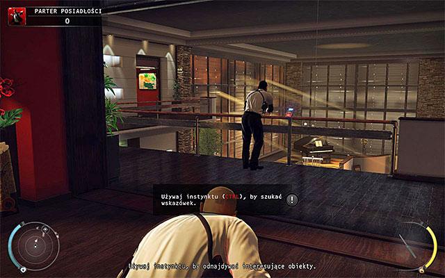 یکی دیگر از مسائل مهم، پنهان سازی اولیه است - طبقه ی عمارت - 1: قرارداد شخصی - هیتمن: Absolution - راهنمای بازی و پیاده روی