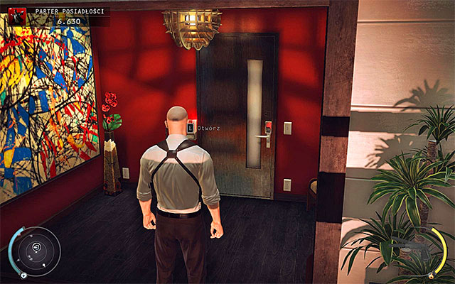 قبل از این که این محل را ترک کنید، ممکن است برای شواهد جدید، در طبقه عمارت عمارت، در نزدیکی پله های دورتر از نقطه شروع قرار بگیرید - عمارت کف زمین - 1: قرارداد شخصی - هیتمن: Absolution - راهنمای بازی و پیاده روی