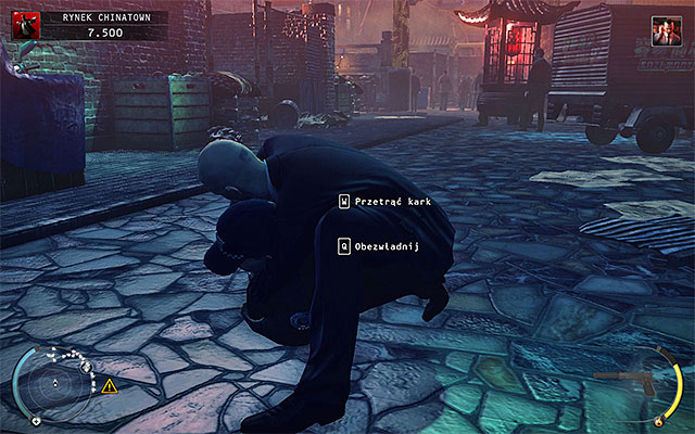 Far better idea is to kill the King of Chinatown in the side alley - Chinatown square - Murdering the King of Chinatown - 2: The King of Chinatown - Hitman: Absolution - Game Guide and Walkthrough