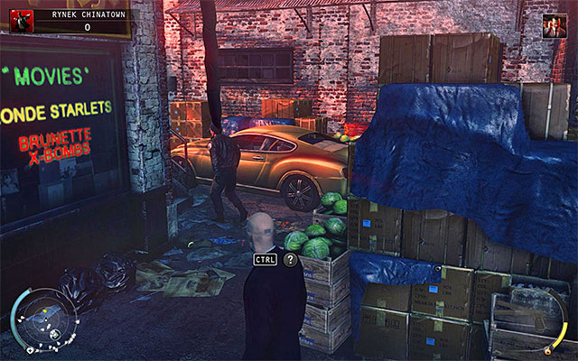 Another possibility is to obtain remote explosives - Chinatown square - Murdering the King of Chinatown - 2: The King of Chinatown - Hitman: Absolution - Game Guide and Walkthrough