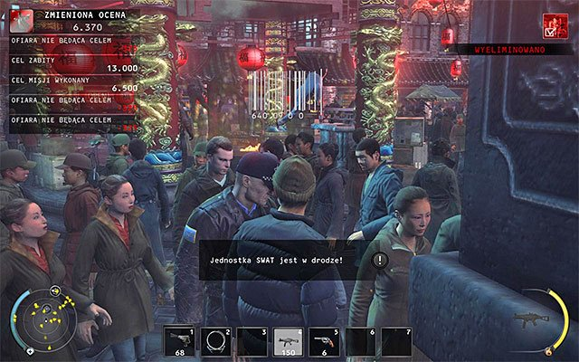 After obtaining remote explosives, you can plant them in any location of your choice - Chinatown square - Murdering the King of Chinatown - 2: The King of Chinatown - Hitman: Absolution - Game Guide and Walkthrough