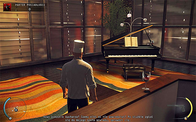 A chance to complete this challenge will appear in the Mansion ground floor stage - 1: Personal Contract - Challenges - Hitman: Absolution - Game Guide and Walkthrough
