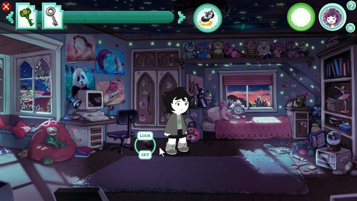 Then, theres the walkie-talkie on the floor - Room 1 | Walkthrough - Walkthrough - Hiveswap Game Guide
