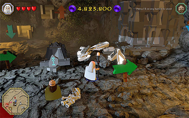 how to break mithril objects lego hobbit