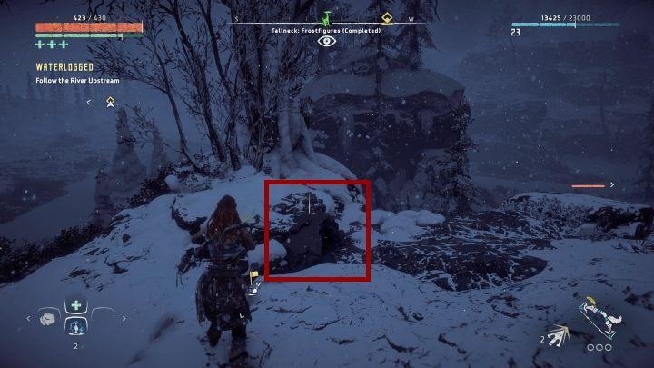 Near the place where you encountered the Tallneck there is a road that leads to a valley - Pigments - Secrets and collectibles - Secrets and collectibles - Horizon Zero Dawn Game Guide
