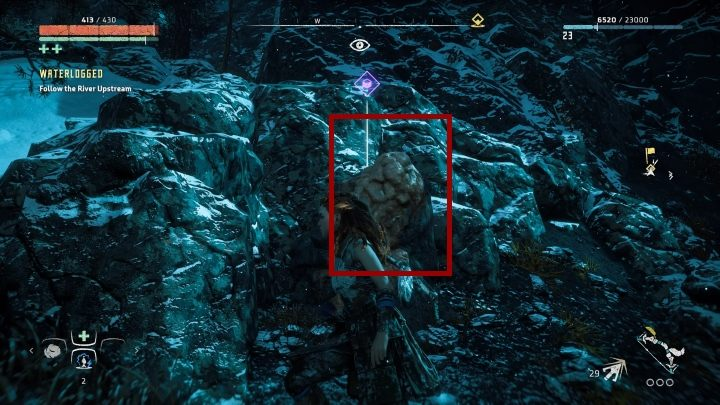 On the eastern part of the map there is a frozen lake with a small fisherman settlement - Pigments - Secrets and collectibles - Secrets and collectibles - Horizon Zero Dawn Game Guide