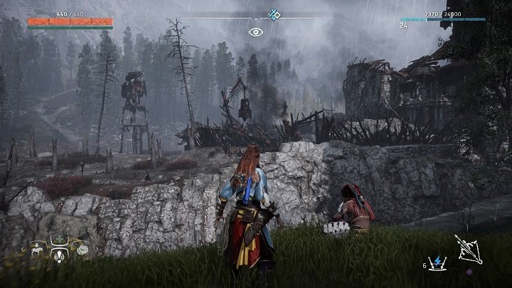 A note on camps appears after you leave Embrace - How to clear bandits camps in Horizon Zero Dawn? - Additional activities - Horizon Zero Dawn Game Guide