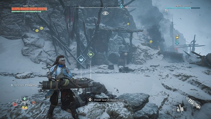 Dont stop, even for a moment, and focus your fire on the strongest enemy - How to clear bandits camps in Horizon Zero Dawn? - Additional activities - Horizon Zero Dawn Game Guide