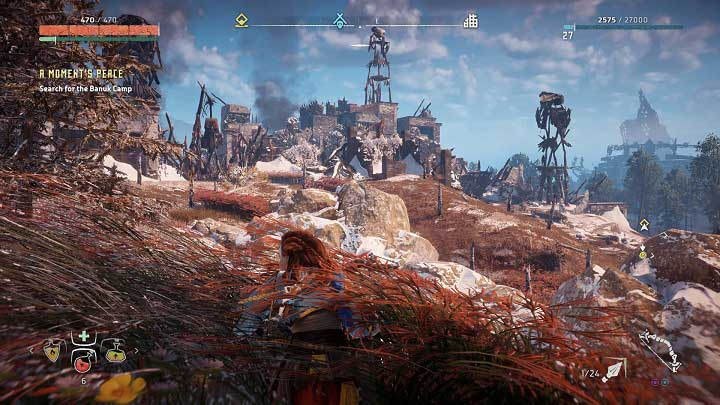 Without a doubt, this is the hardest camp to take - How to clear bandits camps in Horizon Zero Dawn? - Additional activities - Horizon Zero Dawn Game Guide