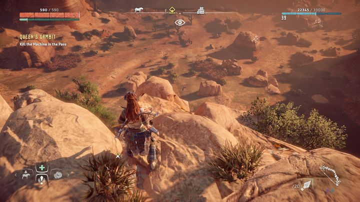 It wont be an easy task - Queens Gambit - side quest | Sunfall side quests - Sunfall - Horizon Zero Dawn Game Guide