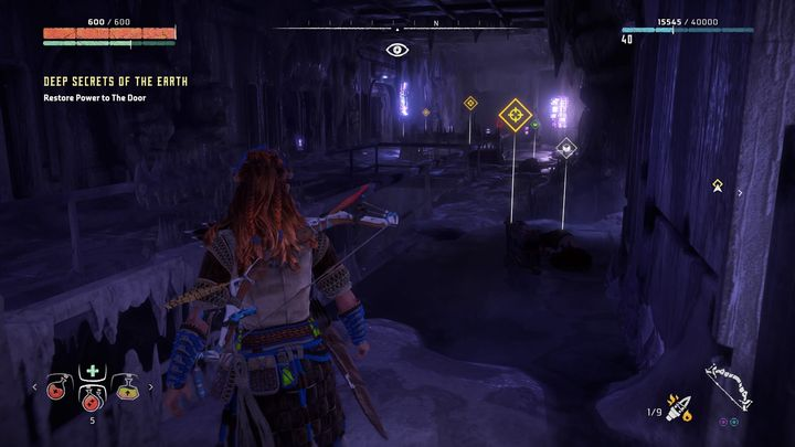 Further you will find new rooms with recordings and cutscenes - Deep Secrets of the Earth | Walkthrough - Main Missions | Walkthrough - Horizon Zero Dawn Game Guide