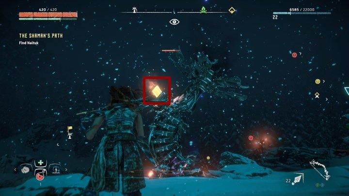 Attacking other parts of those towers is only a waste of arrows - How to destroy the Control Towers in Horizon Zero Dawn: The Frozen Wilds? - FAQ - Horizon Zero Dawn Game Guide
