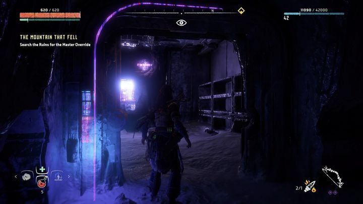 The cell can be found in one of the chambers during the mission The Mountain that Fell - The Ancient Armory - side quest | World side quests - The world - Horizon Zero Dawn Game Guide